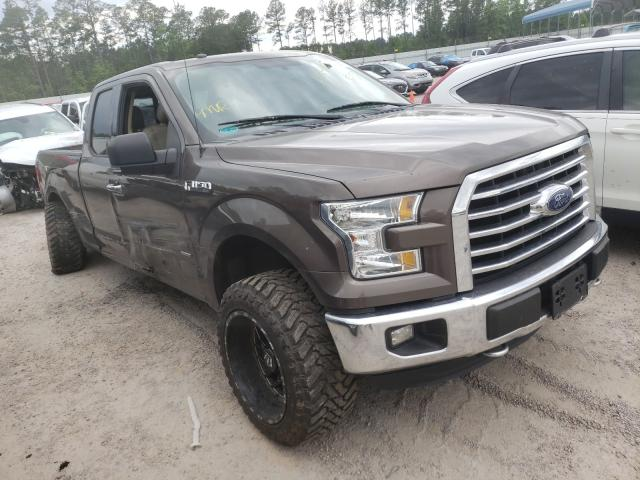 Salvage cars for sale from Copart Harleyville, SC: 2016 Ford F150 Super