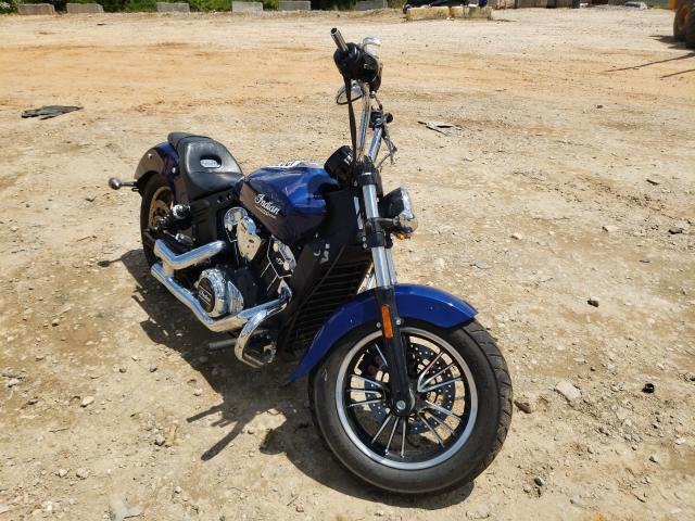 Salvage cars for sale from Copart China Grove, NC: 2021 Indian Motorcycle Co. Scout ABS