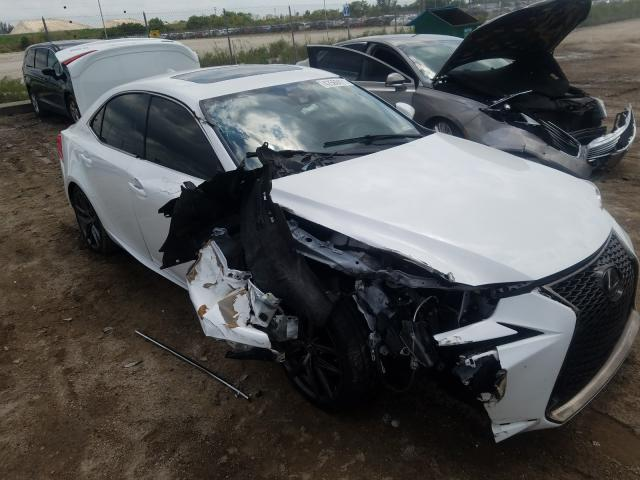 Salvage cars for sale from Copart West Palm Beach, FL: 2019 Lexus IS 300