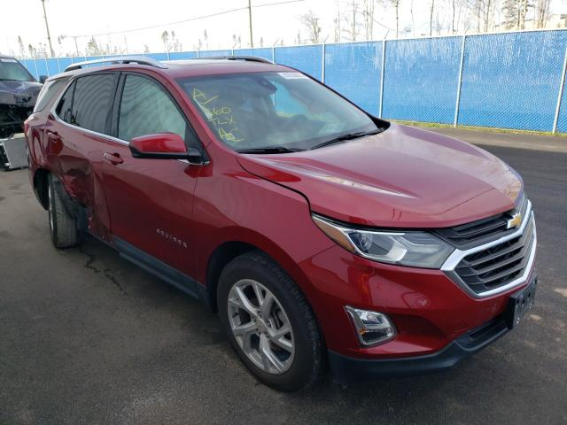 Salvage cars for sale from Copart Atlantic Canada Auction, NB: 2020 Chevrolet Equinox LT