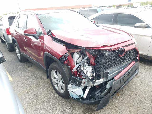 Salvage cars for sale from Copart Fort Wayne, IN: 2020 Toyota Rav4 XLE