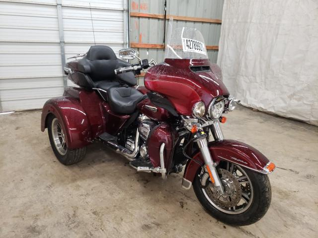 Salvage motorcycles for sale at Madisonville, TN auction: 2017 Harley-Davidson Flhtcutg T