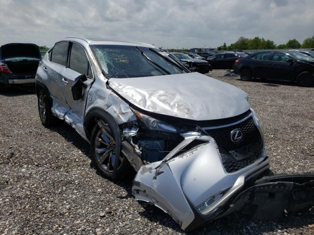 Salvage cars for sale from Copart Houston, TX: 2016 Lexus NX 200T BA