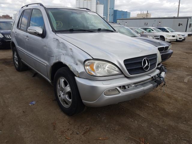 2002 Mercedes-Benz ML 320 en venta en Chicago Heights, IL