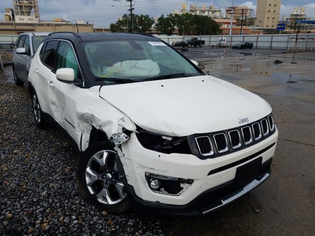 Salvage cars for sale from Copart New Orleans, LA: 2020 Jeep Compass LI