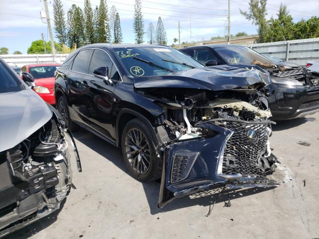 Salvage cars for sale from Copart Miami, FL: 2020 Lexus RX 350 F-S