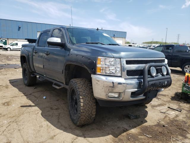 Salvage cars for sale from Copart Woodhaven, MI: 2012 Chevrolet Silverado