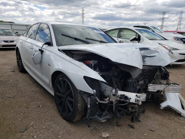 Audi salvage cars for sale: 2018 Audi A6 Premium