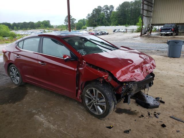 Salvage cars for sale from Copart Fairburn, GA: 2017 Hyundai Elantra SE