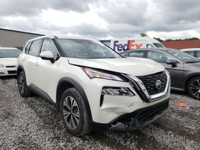 Salvage cars for sale from Copart Hueytown, AL: 2021 Nissan Rogue SV