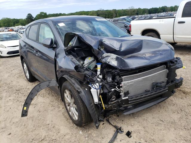 Salvage cars for sale at Conway, AR auction: 2021 Hyundai Tucson SE