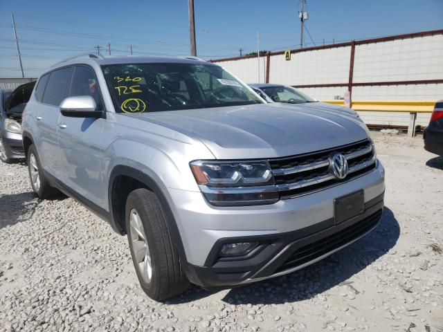 Salvage cars for sale from Copart Haslet, TX: 2018 Volkswagen Atlas SE