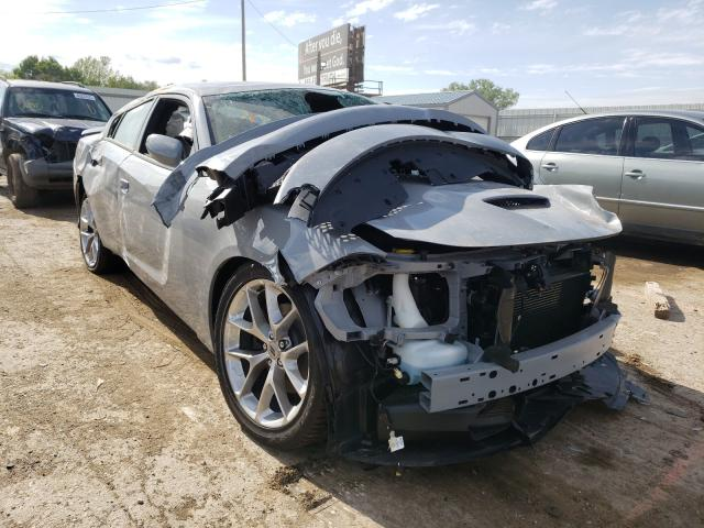 Salvage cars for sale from Copart Wichita, KS: 2021 Dodge Charger GT