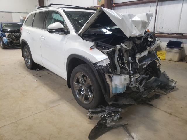 Salvage cars for sale from Copart Nisku, AB: 2017 Toyota Highlander