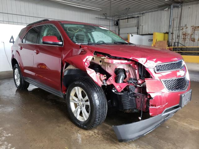 Salvage cars for sale from Copart Candia, NH: 2012 Chevrolet Equinox LT