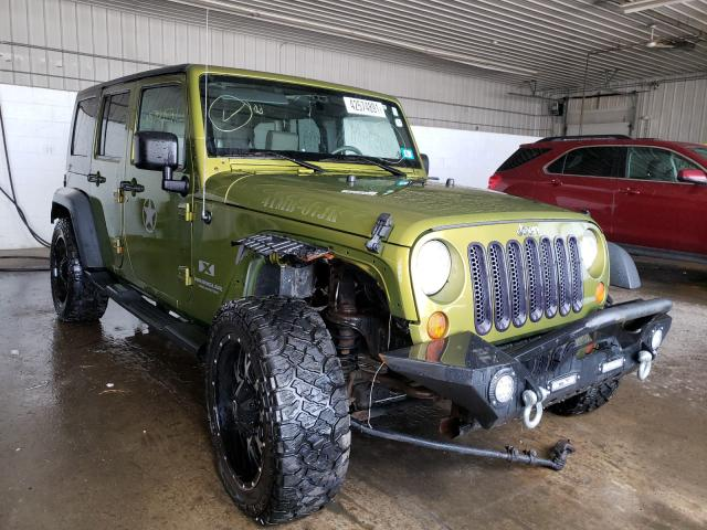 Salvage cars for sale at Candia, NH auction: 2007 Jeep Wrangler X