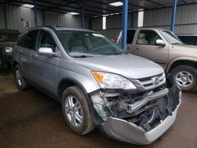 Salvage cars for sale from Copart Brighton, CO: 2010 Honda CR-V EXL
