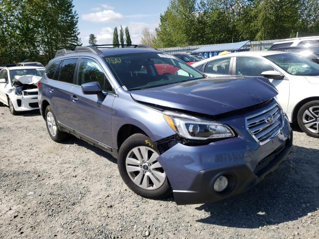 Salvage cars for sale from Copart Arlington, WA: 2016 Subaru Outback 2