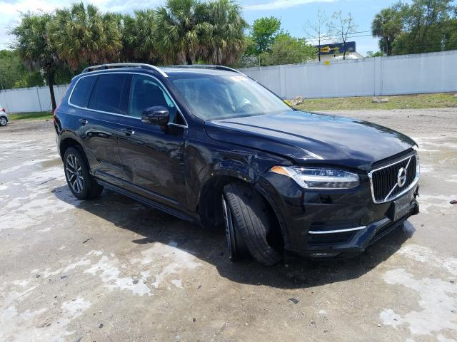 Salvage cars for sale at West Palm Beach, FL auction: 2019 Volvo XC90 T6 MO