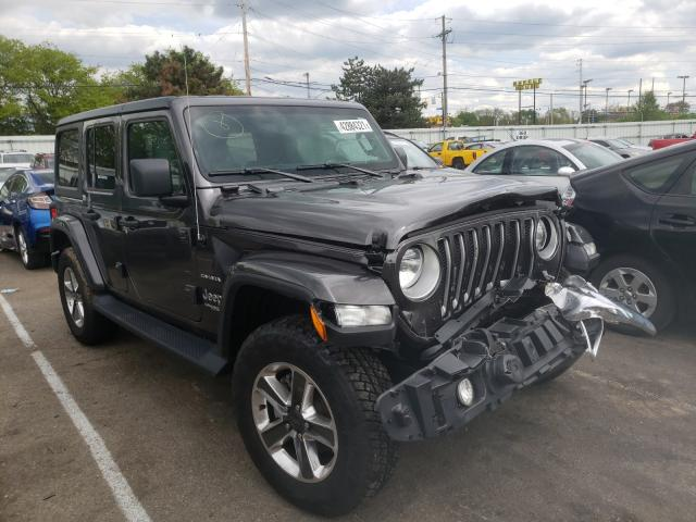 Salvage cars for sale from Copart Moraine, OH: 2020 Jeep Wrangler U