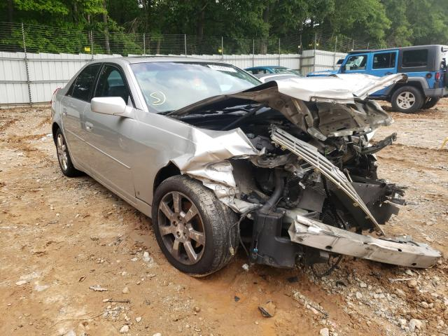 Salvage cars for sale from Copart Austell, GA: 2007 Cadillac CTS HI FEA