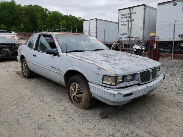 Pontiac Grand AM salvage cars for sale: 1987 Pontiac Grand AM