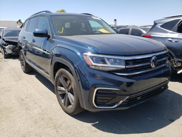 Volkswagen salvage cars for sale: 2021 Volkswagen Atlas SE