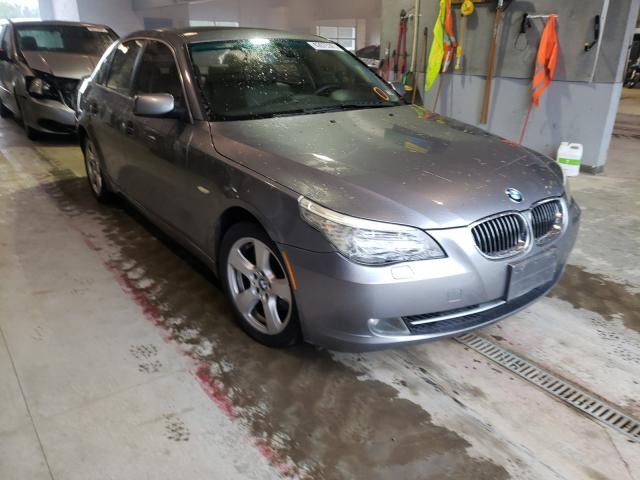 Salvage cars for sale from Copart Sandston, VA: 2008 BMW 535 XI