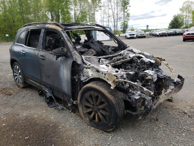 Salvage cars for sale from Copart East Granby, CT: 2020 Mercedes-Benz GLB 250 4M