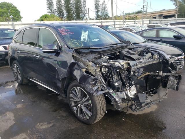 Salvage cars for sale from Copart Miami, FL: 2020 Acura MDX Techno