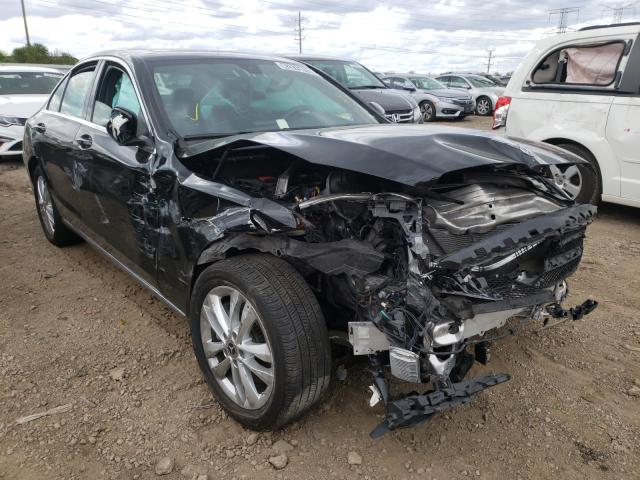 Salvage cars for sale from Copart Elgin, IL: 2019 Mercedes-Benz C 300 4matic