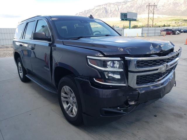 Salvage cars for sale from Copart Farr West, UT: 2015 Chevrolet Tahoe K150