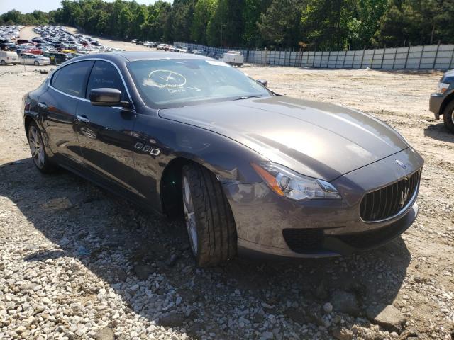 Maserati salvage cars for sale: 2016 Maserati Quattropor