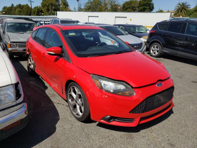 Salvage cars for sale from Copart Vallejo, CA: 2013 Ford Focus ST