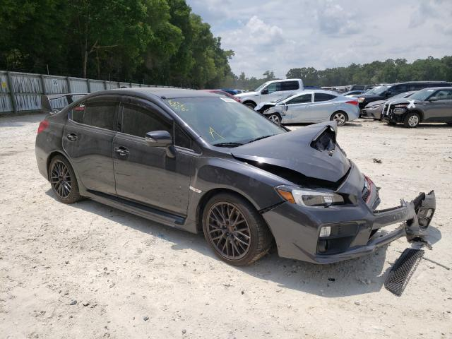 Salvage cars for sale from Copart Ocala, FL: 2016 Subaru WRX STI