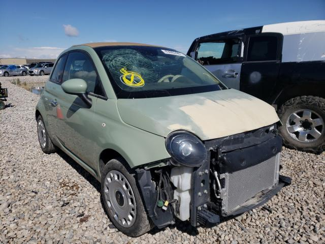 Fiat salvage cars for sale: 2015 Fiat 500 POP