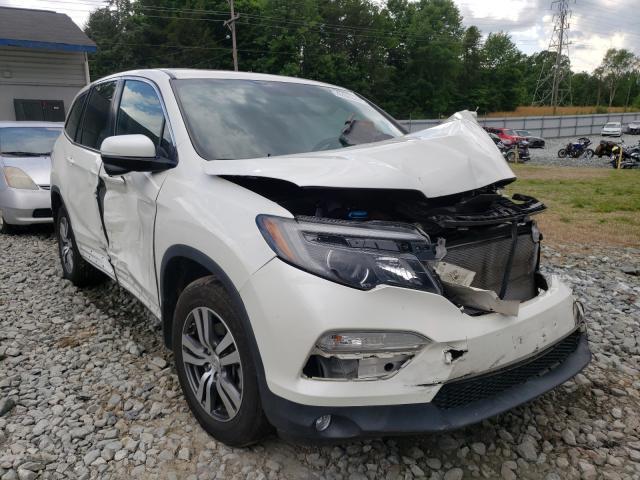 Vehiculos salvage en venta de Copart Mebane, NC: 2017 Honda Pilot EXL
