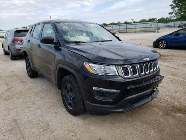 Salvage cars for sale from Copart Wichita, KS: 2021 Jeep Compass SP