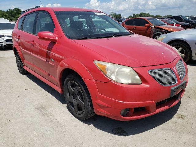 Salvage cars for sale from Copart Riverview, FL: 2006 Pontiac Vibe
