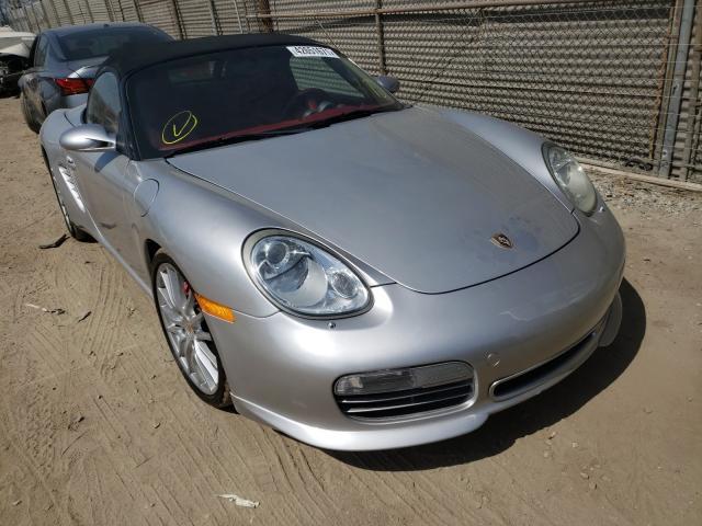 Vehiculos salvage en venta de Copart Los Angeles, CA: 2008 Porsche Boxster S