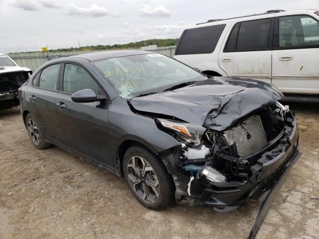 Salvage cars for sale from Copart Kansas City, KS: 2020 KIA Forte FE