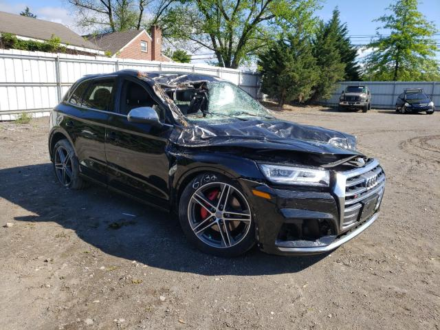 Salvage cars for sale from Copart Finksburg, MD: 2019 Audi SQ5 Premium