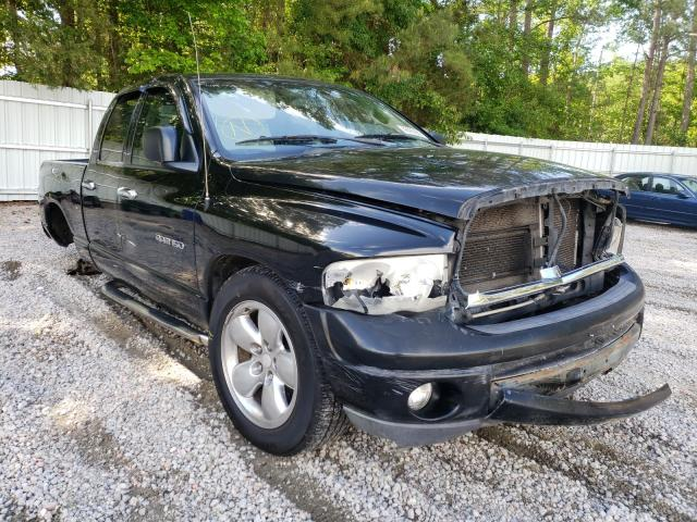 Salvage cars for sale from Copart Knightdale, NC: 2002 Dodge RAM 1500