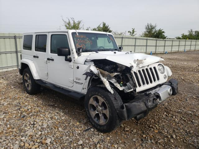 Salvage cars for sale from Copart Kansas City, KS: 2017 Jeep Wrangler U