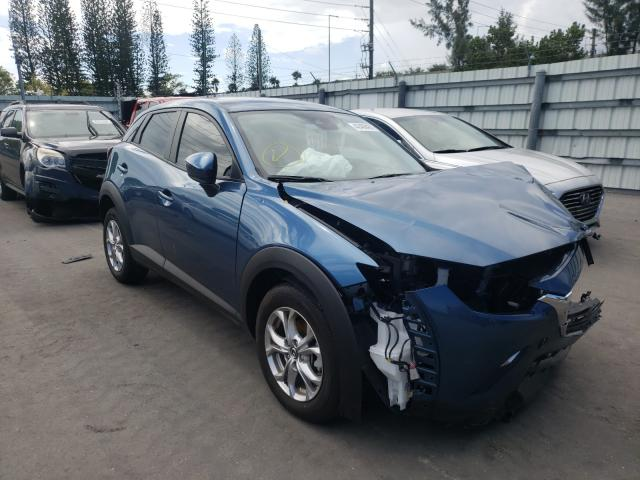 Mazda salvage cars for sale: 2021 Mazda CX-3 Sport