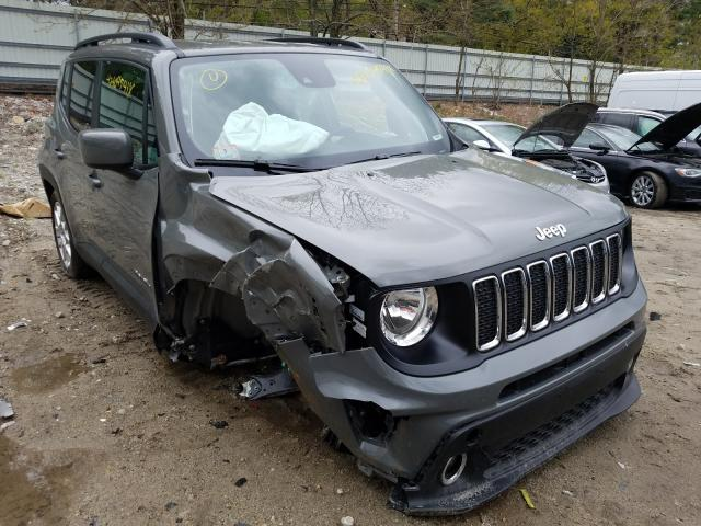 Salvage cars for sale from Copart Mendon, MA: 2021 Jeep Renegade L