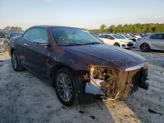 Salvage cars for sale from Copart Loganville, GA: 2012 Chrysler 200 Limited