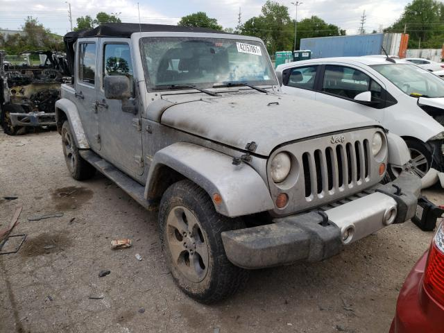 Salvage cars for sale from Copart Bridgeton, MO: 2013 Jeep Wrangler U