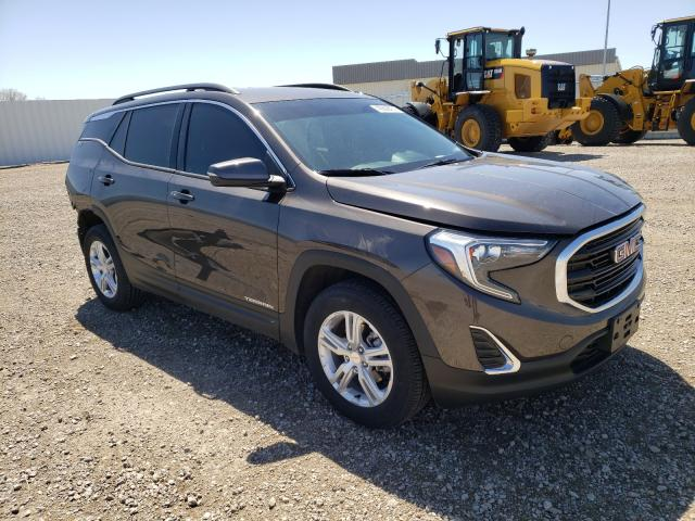 Salvage cars for sale from Copart Bismarck, ND: 2019 GMC Terrain SL