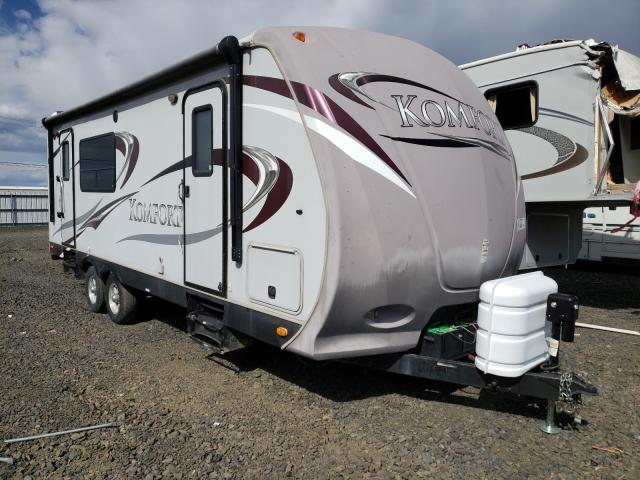 Dutchmen Travel Trailer salvage cars for sale: 2012 Dutchmen Travel Trailer